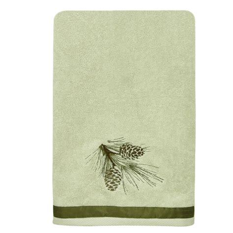 Pinecone Bathroom Accessories Pine Cone Bath Towel