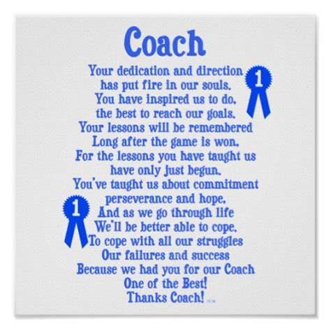 7 to being a great coach become your best and they will books coach thank you print zazzle