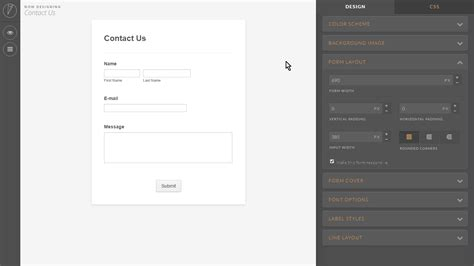 form design tool online deprecated how to make the form responsive using the form
