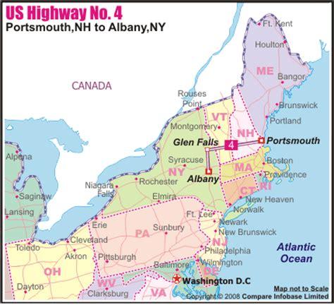 map albany ny us highway no 4 portsmouth nh to albany ny