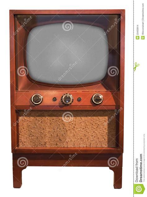 imagenes retro y vintage old retro vintage tv console set fifties isolated stock
