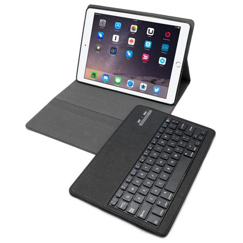 fundas con teclado para ipad funda con teclado bluetooth para ipad air 2 pccomponentes