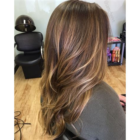 hair color types caramel highlights for hair balayage for brown