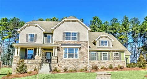 carolina homes southern trace the hall new home community charlotte