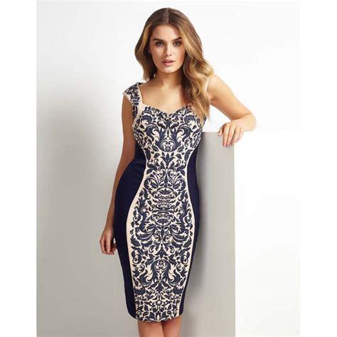 Rucika Knee Polos Pvc 1 12 D L Bengkokan D Dl Tanpa Drat blue floral print knee length dress n10852