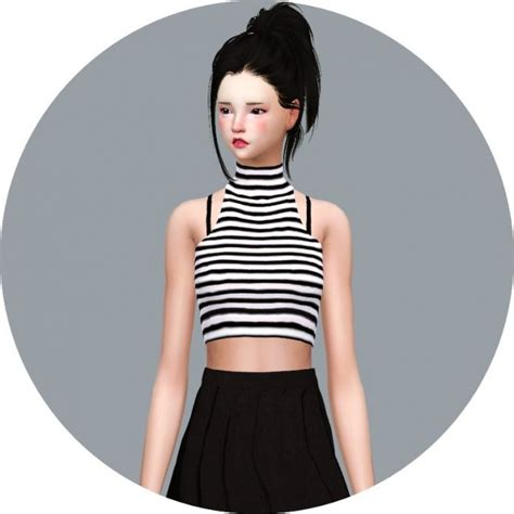 Crop Top Blouse Cc 594 best sims 4 cc clothing hair images on