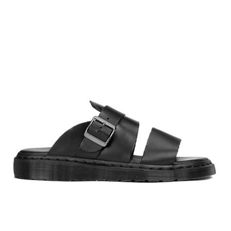 dr martens sandals dr martens s shore brelade buckle leather slide