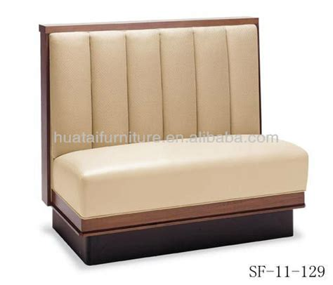 restaurant sofa 2015 new design fastfood fireproof material booths