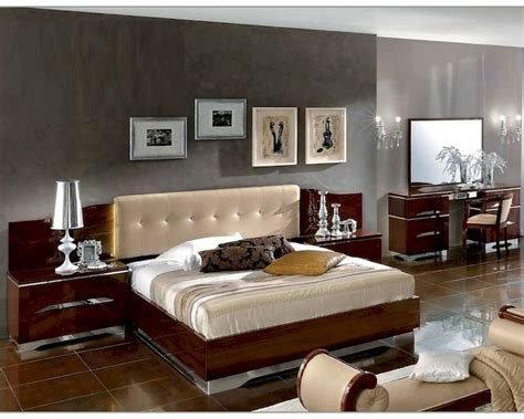 italian contemporary bedroom furniture italian bedroom set matrix contemporary style 3313mt
