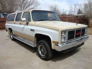 1988 suburban 4x4 gmc chevrolet 1500 1 2 ton sierra classic jimmy