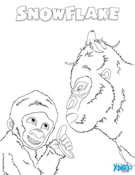 dibujos para colorear zoo dibujos para colorear copito de nieve en el zoo es