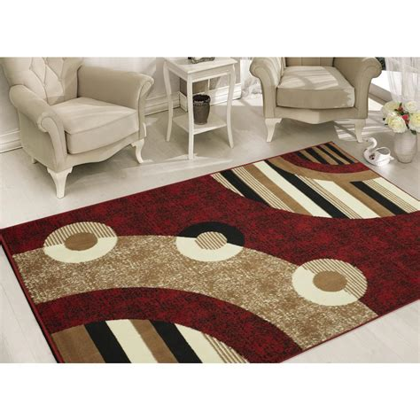 Area Rug 5 X 7 Sweet Home Stores Clifton Collection Modern Circles Design 5 Ft X 7 Ft Area Rug Bcf1520