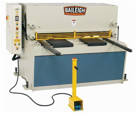 baileigh sh hd hydraulic plate shear