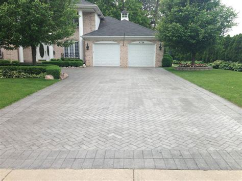 Patio Pavers Chicago Brick Driveway Pavers Chicago Aztec Design