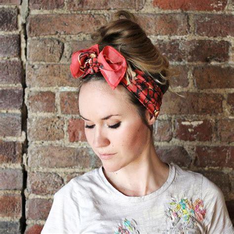 fashion hub 10 ways to wear a silk scarf