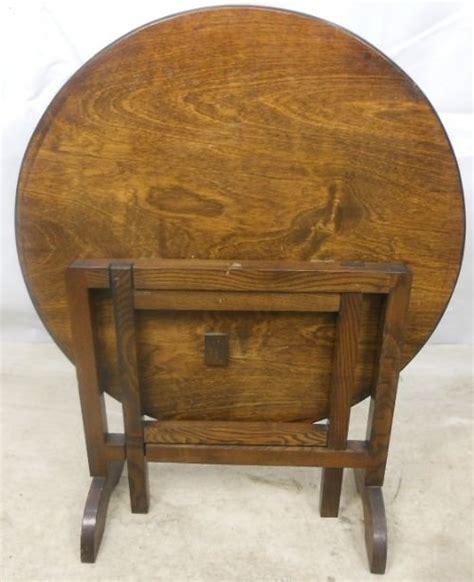 Folding Coffee Table Uk Circular Oak Folding Coffee Table 94689 Sellingantiques Co Uk