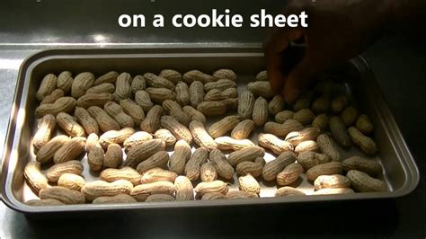 home roasted in shell raw peanuts youtube