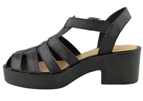 closed toe heeled sandals block heel gladiator closed toe strappy