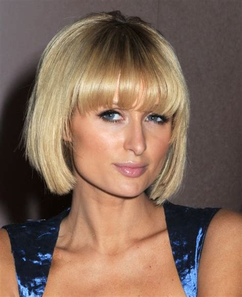 paris womens hair styles short hairstyles with fringe