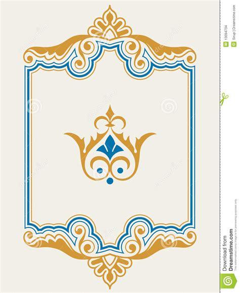 frame design agency ornamental border frame design element set stock images