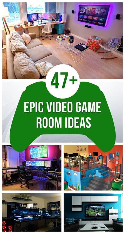 video game bedroom decor best 25 video game rooms ideas on pinterest man cave