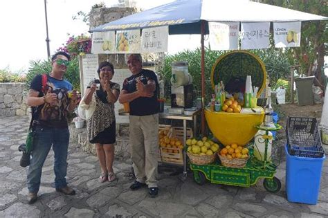 Limo Services Near My Location by Stopping For Some Refreshments Near Positano Picture Of