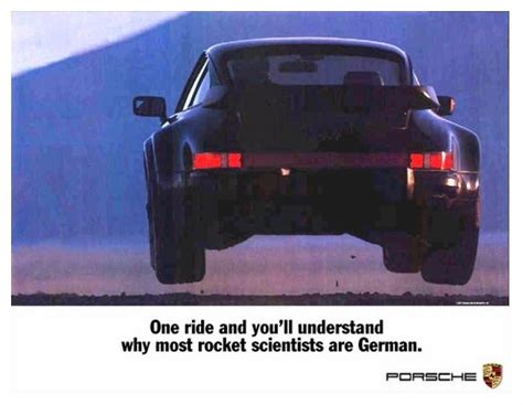 porsche turbo poster turbo german rocket scientist poster pelican parts forums
