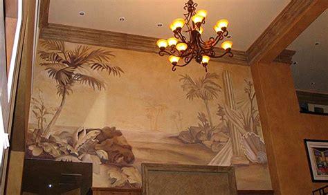 sepia murals tone  tone paradise studios luxury interiors