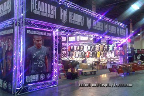 led lights for trade booths trade booth lighting for professional trade displays