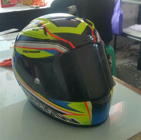 design helm kreatif pengecatan helm ronita digital printing