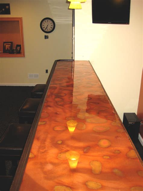 Lacquer Bar Top by Copper Bar Top Photos Page 4