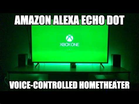 amazon alexa echo dot home theater voice control youtube