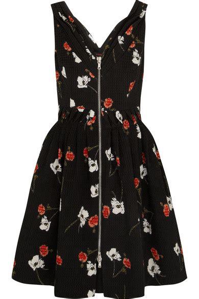 Kate Moss For Topshop Closer Look Floral Dress by Kate Moss For Topshop Floral Print Cotton Dress Net A