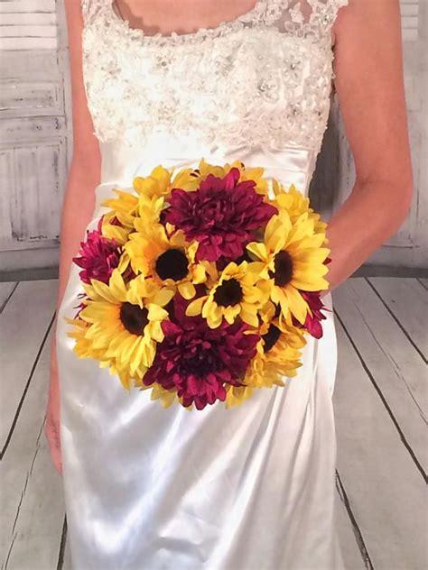 Wedding Bouquet Quotes by Wedding Quotes Sunflower Bouquet Burgundy Dahlia