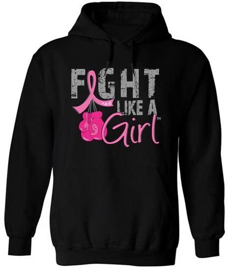 Sweater Vgod Black Fightmerch fight like a breast cancer hoodie hoody sweatshirt