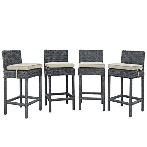 bar stools for outdoor patios modterior outdoor outdoor sets summon bar stool