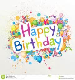 happy birthday royalty free stock image image 29931856