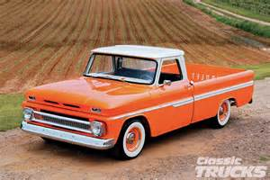 1966 chevy c10 orange twist rod network