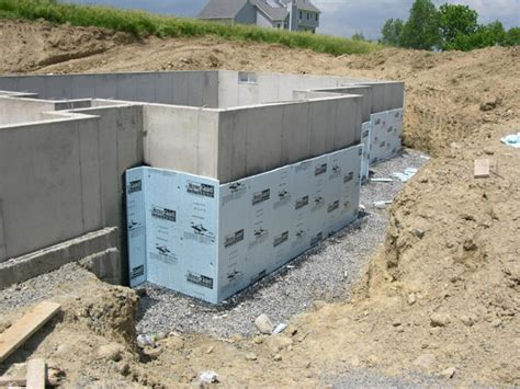 building exterior walls with rigid foam insulation great