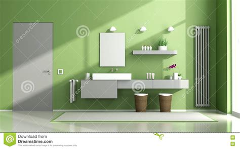 green and grey bathroom green and grey bathroom green and gray bathroom stock illustration image 71141564