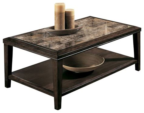 Coffee Tables Set by Homelegance Belvedere 3 Coffee Table Set In Espresso