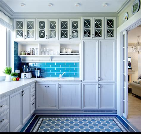 blue kitchen designs 2 provence style apartment designs with floor plans