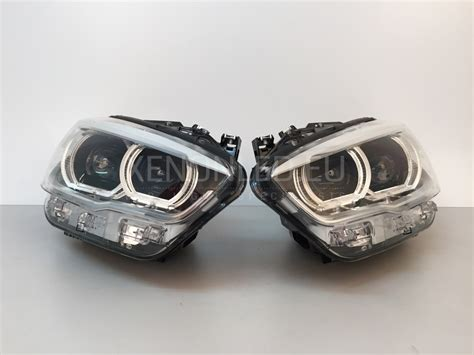 bmw f20 headlights bmw 1 m1 series f20 f21 facelift lci 2015 led headlights