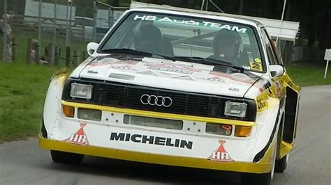Audi Quattro S1 Group B by Audi Quattro S1 Group B Rally Sound Youtube
