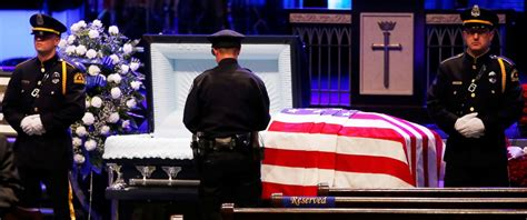 Dallas Officer by Slain Dallas Officers Mourned At Funerals