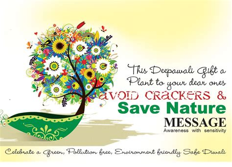 eco friendly diwali quotes messages slogan poster poems