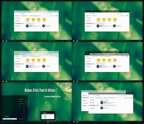 themes for windows 7 windows 10 windows 10 aero theme for windows 7 by cleodesktop on