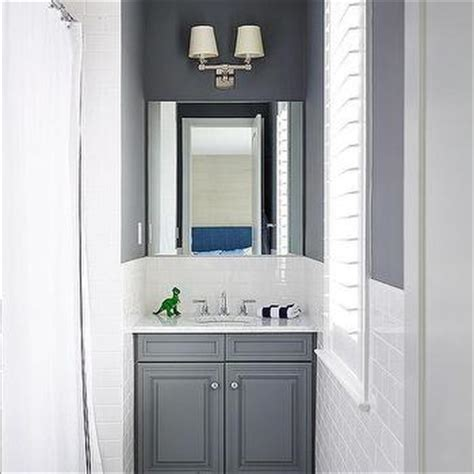 charcoal gray bathroom paint colors transitional bathroom jeff lewis color carbon