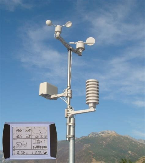 advanced wireless weather station for home