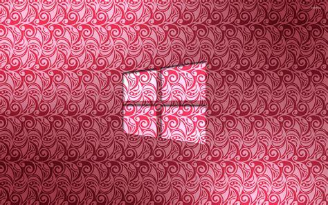 pink pattern desktop wallpaper windows 10 glass logo on pink pattern wallpaper computer